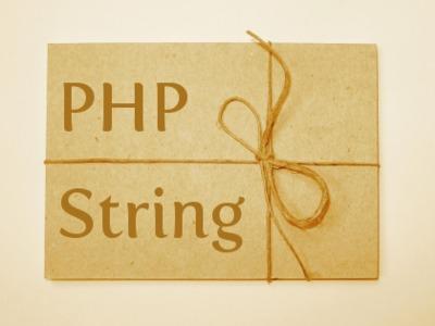 Làm việc với chuỗi trong PHP