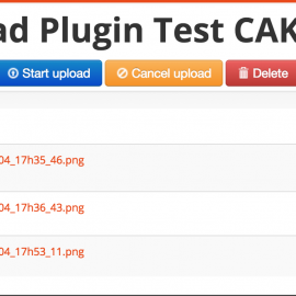 Hướng dẫn sử dụng plugin Jquery Upload File trong CakePHP 2.0