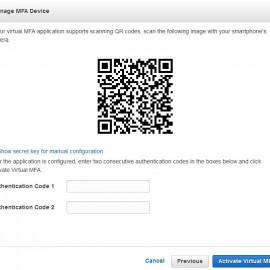 Hướng dẫn bật tính năng  MFA trong Amazon Web Service